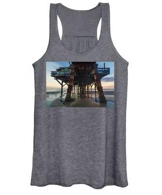 Daytona Beach Shores Pier Women's Tank Top