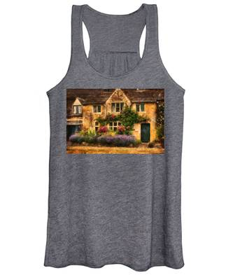 English Stone Cottage Women's Tank Top