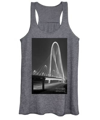 Fog Lights And Lines Iv Women's Tank Top