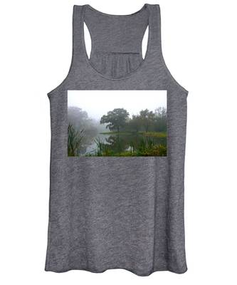 Foggy Morning At The Willows Women's Tank Top