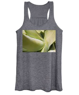 Giant Agave Abstract 9 Women's Tank Top