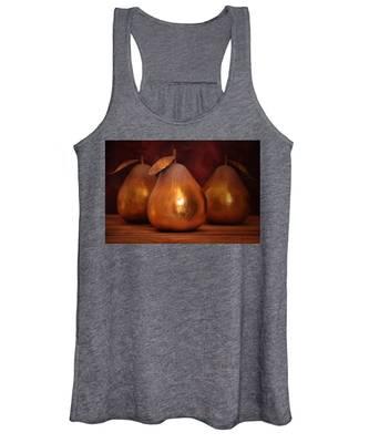 Golden Pears I Women's Tank Top