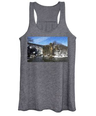 Great Falls Painted Women's Tank Top