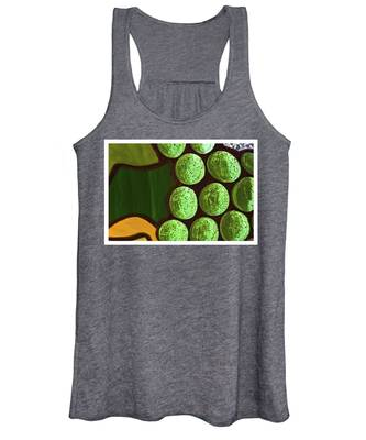Green Yellow Women's Tank Top