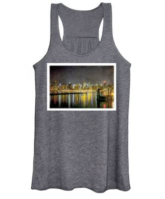Nyc At Night Women's Tank Top