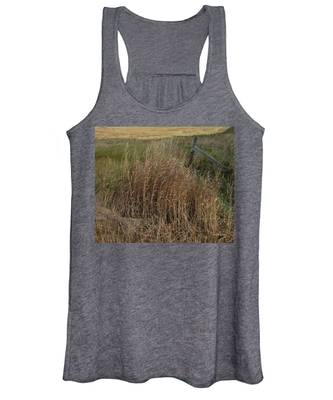 Old Fence Line Women's Tank Top