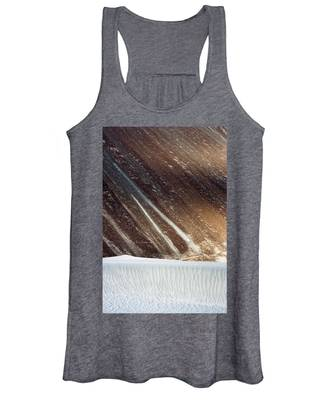 Sand Abstract, Hunder, 2006 Women's Tank Top