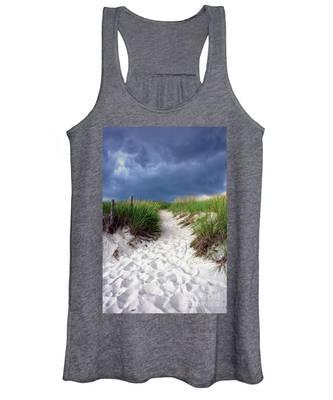 Sand Dune Under Storm Women's Tank Top