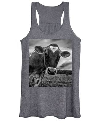 She Wears Her Heart For All To See Women's Tank Top