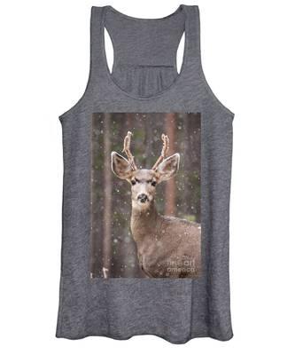 Snow Deer 1 Women's Tank Top