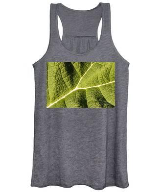 Veins Of A Leaf Women's Tank Top
