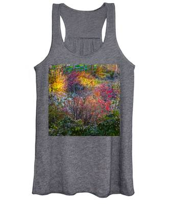 Bright Autumn Light Women's Tank Top