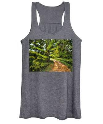 Forest Pathway Women's Tank Top