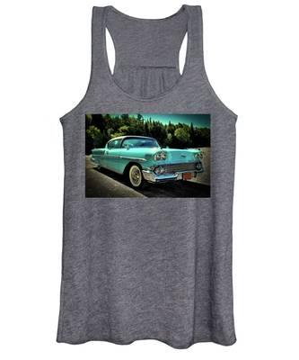 1958 Chevrolet Impala Women's Tank Top