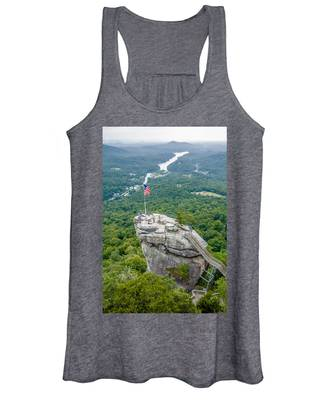 Lake Lure And Chimney Rock Landscapes Women's Tank Top