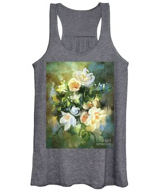 Blooming Women's Tank Top