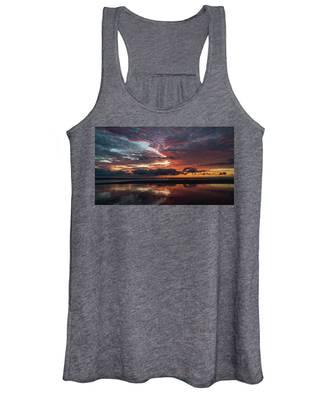 Bold Sunrise Delray Beach Florida Women's Tank Top