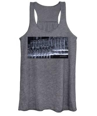 Chasing Waterfalls - Blue Women's Tank Top