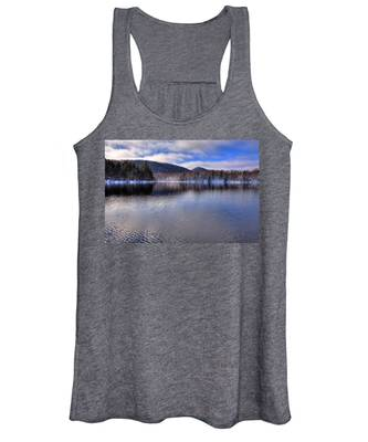 Early Snow On West Lake Women's Tank Top
