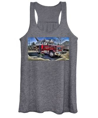 Firemen Honor And Sacrifice #1 Women's Tank Top
