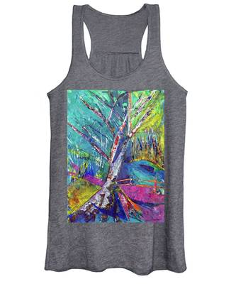 Firey Birch Women's Tank Top