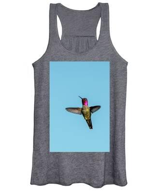 Flight Of A Hummingbird Women's Tank Top