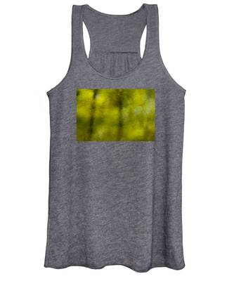 Forest Abstract Reflection Women's Tank Top