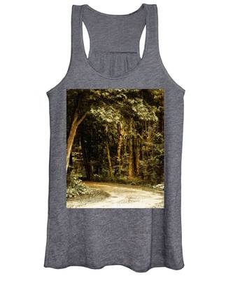 Forest Curve Women's Tank Top