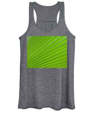 Green Abstract No. 1 Women's Tank Top