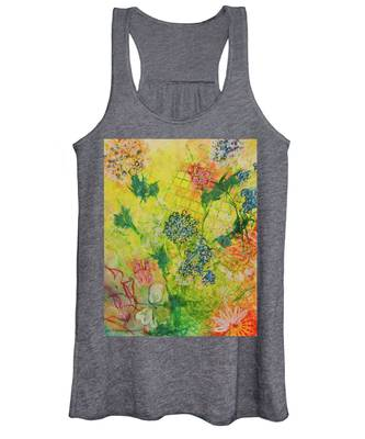 Hello Yellow Women's Tank Top