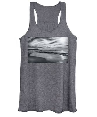 Hermosa Evening Black And White Women's Tank Top