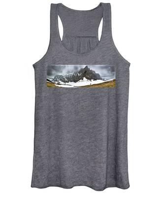 Hiking In The Alps Women's Tank Top