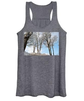 Icy Trees Women's Tank Top