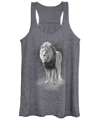 In His Prime - Black And White Women's Tank Top
