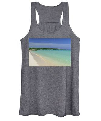 Seven Mile Beach, Negril Women's Tank Top