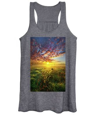 It Begins With A Word Women's Tank Top