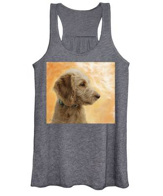 Labradoodle Puppy Women's Tank Top