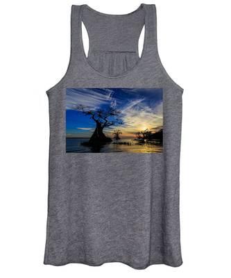 Lake Disston Sunset Women's Tank Top