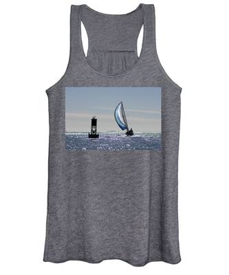 Late Afternoon Sail Women's Tank Top
