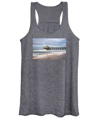 Manhattan Pier With Two Tankers Women's Tank Top