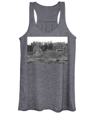 Mill At Clinton Among The Reeds Women's Tank Top