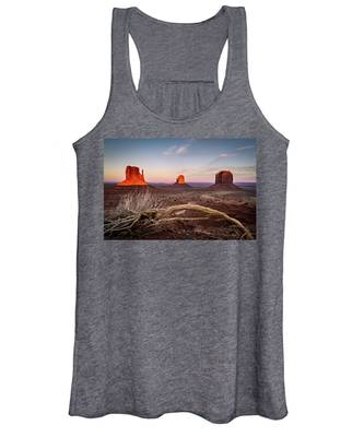Monument Valley Sunset Women's Tank Top