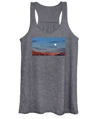 Moonrise With Afterglow Women's Tank Top