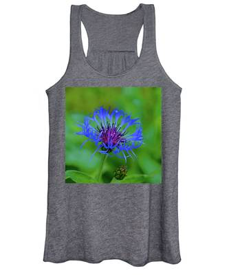 Mountain Cornflower Women's Tank Top