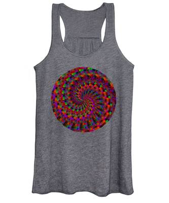 Multicolored Twist Women's Tank Top
