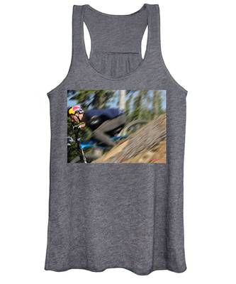 Women's Tank Top featuring the photograph Need For Speed by Rasma Bertz