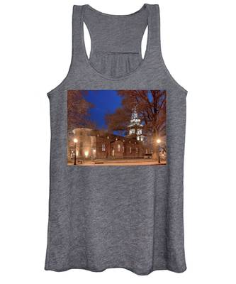Night Lights St Anne's In The Circle Women's Tank Top