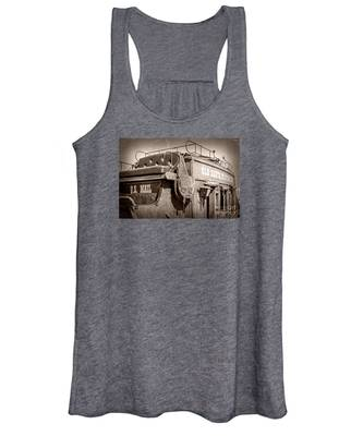 Old Santa Fe Stagecoach Women's Tank Top