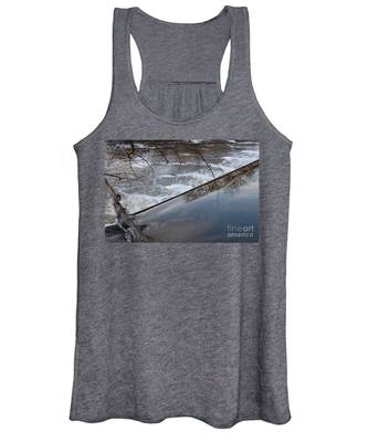 Pompton Spillway From Above Women's Tank Top