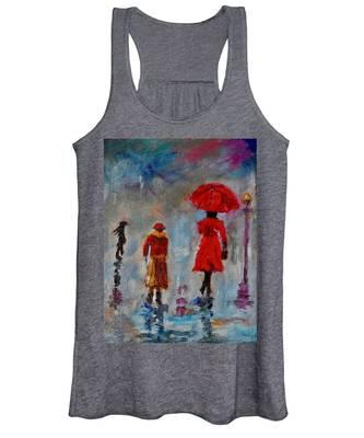 Rainy Spring Day Women's Tank Top